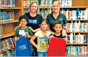 HCISD receiving free books for all Pre-K and Kinder students